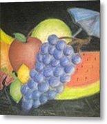Dreamy Fruit Metal Print