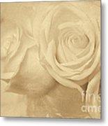 Dreamy Roses Metal Print