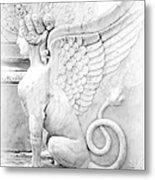 Dreamy Sphinx Metal Print