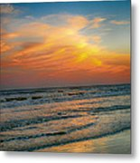 Dreamy Texas Sunset Metal Print