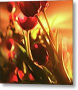 Dreamy Tulips Metal Print
