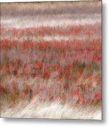 Dreamy Wildflowers Metal Print