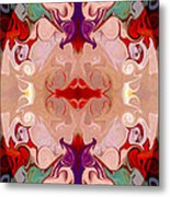 Drenched In Awareness Abstract Healing Artwork By Omaste Witkows Metal Print