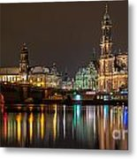 Dresden The Capital Of Saxony II Metal Print