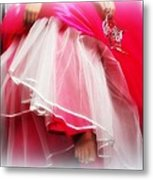 Dress - Gown - Pageant Metal Print