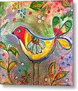 Drew Bird Metal Print