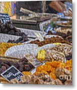 Dried Fruits Metal Print