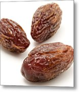 Dried Medjool Dates Metal Print