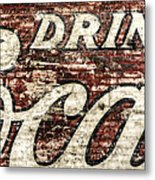 Drink Coca-cola 2 Metal Print