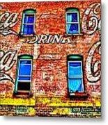 Drink Coca-cola Metal Print