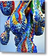 Dripping Lego Paint Metal Print
