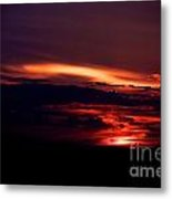 Drive-by Sunset Metal Print