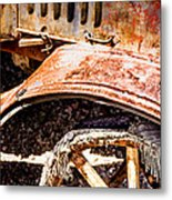 Drive The Tires Off Metal Print