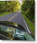 Drive To Vacation Metal Print