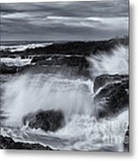 Driven By The Storm Metal Print