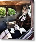 Driving Miss Daizee Metal Print
