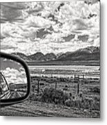 Driving Through Colorado Metal Print