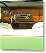 Driving With The Top Down Metal Print