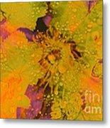 Droplets Two Metal Print