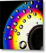 Drops Of A Rainbow Metal Print by Alexandra  Rampolla