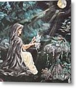 Druid's Meditation Metal Print