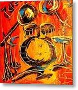 Drums Metal Print