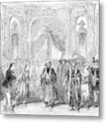Drury Lane Theatre, 1854 Metal Print