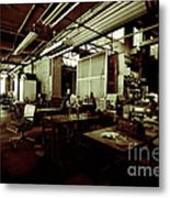 Dry Cleaning Plant Metal Print