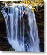 Dry Falls North Carolina Metal Print