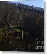 Dry Fork At Jenningston Metal Print by Randy Bodkins