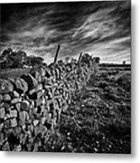 Dry Stone Walls Metal Print
