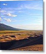 Dry Valley Vista Metal Print