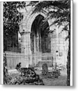 Dryburgh Abbey, 1866 Metal Print