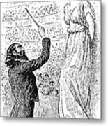 Du Maurier: Trilby, 1894 Metal Print