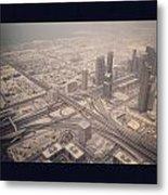 Dubai Citylife Metal Print by Maeve O Connell