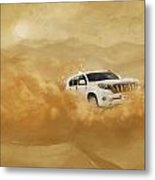 Dubai Safari  Metal Print