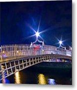 Dublin - Ha'penny Bridge  Metal Print