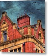 Dublin House Roof Top Metal Print