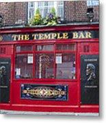 Dublin Ireland - The Temple Bar Metal Print