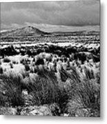 Dublin Mountains In Winter Ireland Metal Print by Jo Collins