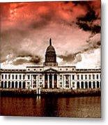 Dublin - The Custom House Metal Print