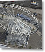 Dublins Big Wheel, Dublin Metal Print