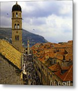 Dubrovnik - Old City Metal Print