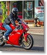 Ducati 748 Metal Print