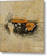 Ducati 750 Sport 1973 Metal Print by Pablo Franchi