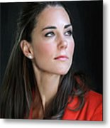 Duchess Of Cambridge Metal Print by Martin Bailey