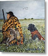 Duck Hunters Metal Print