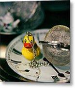 Duck The Hour Metal Print