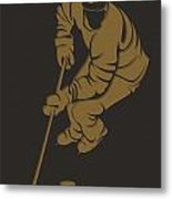 Ducks Shadow Player3 Metal Print