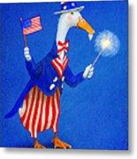 Ducky Doodle Dandy... Metal Print by Will Bullas
